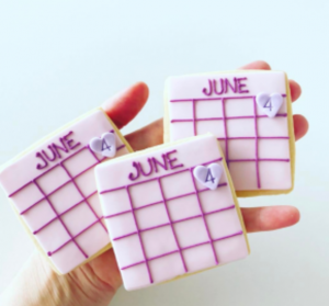Save the Date Cookies