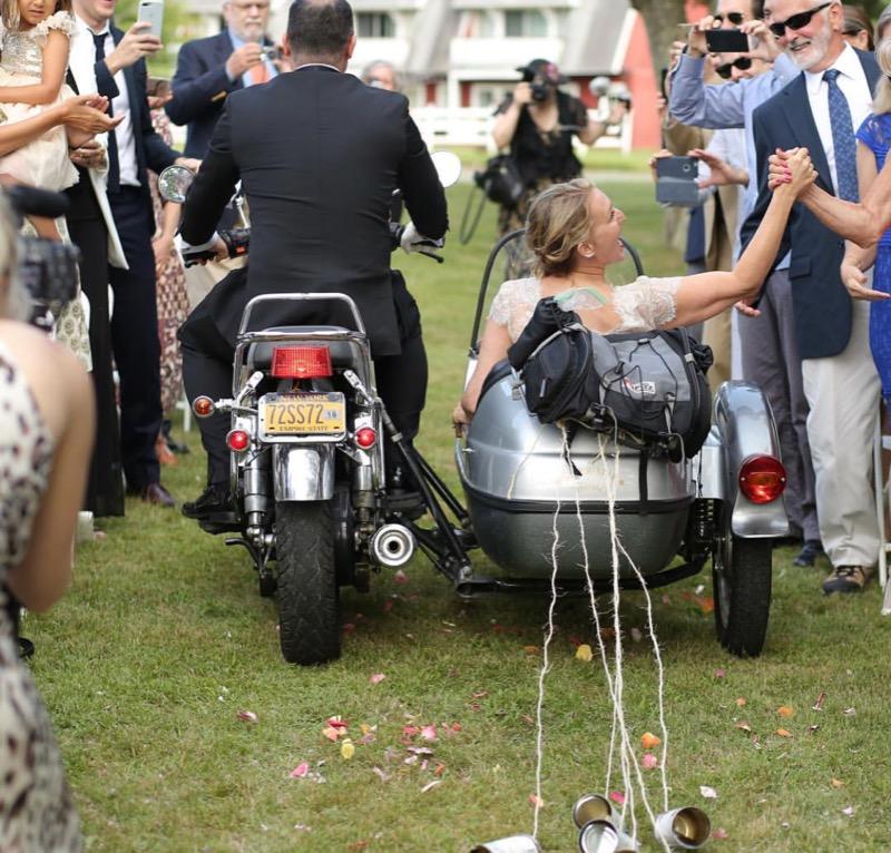 Ceremony motorcycle recession