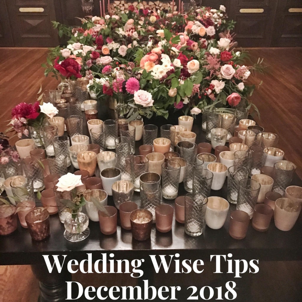 Wedding Advice December