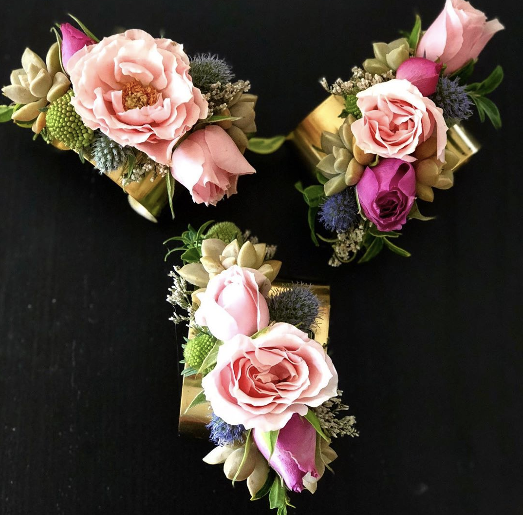 Four-for-Friday - Flower-cuffs